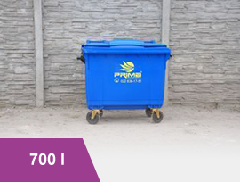 Pojemnik 700 l na odpady